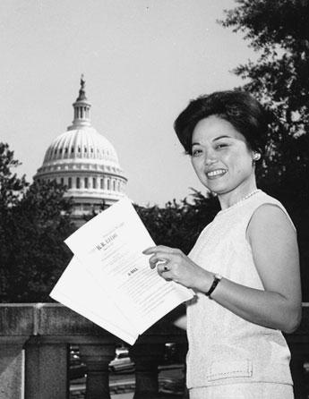 Hawai'i congresswoman Patsy Mink